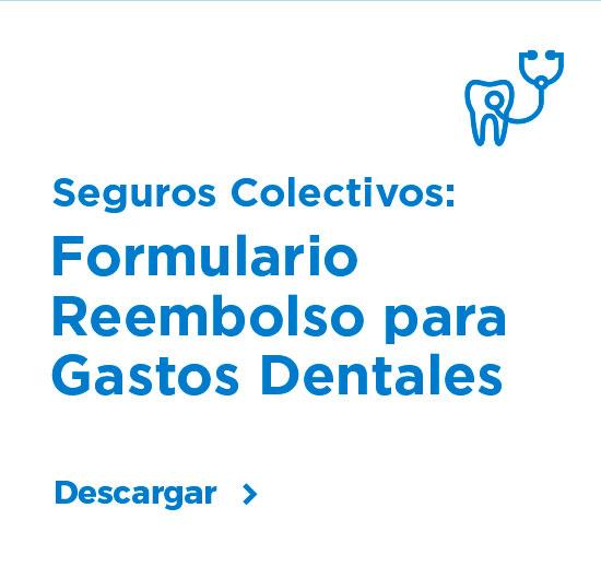 Formulario Reembolso para Gastos Dentales