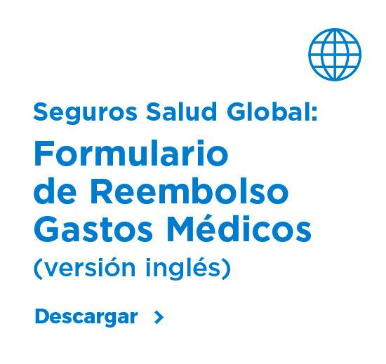 Formulario de Reembolso Gastos Médicos (versión inglés)
